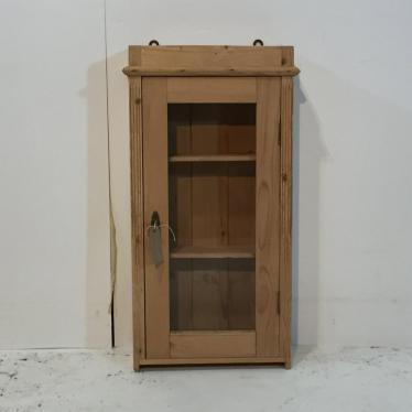 small antique pine wall hanging bathroom cabinet wall